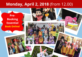 MONDAY Easter Treasure Trail at Belvedere - Monday, April 2, 2018
