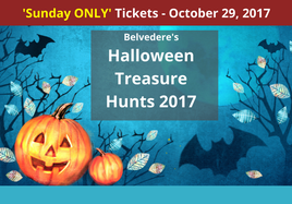 SUNDAY Halloween Treasure Hunt at Belvedere House, Gardens and Park
