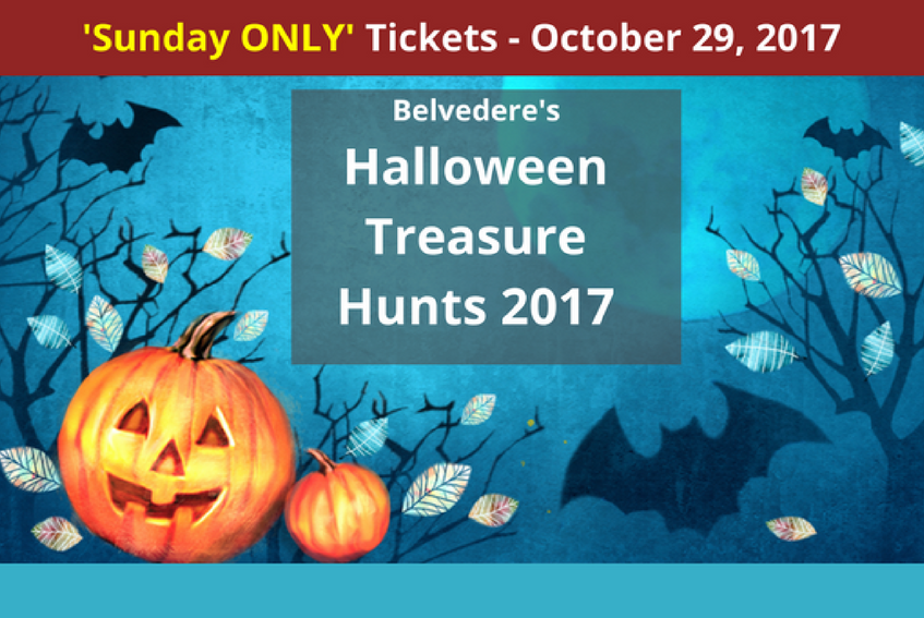 SUNDAY Halloween Treasure Hunt at Belvedere House, Gardens and Park. BOOKED OUT