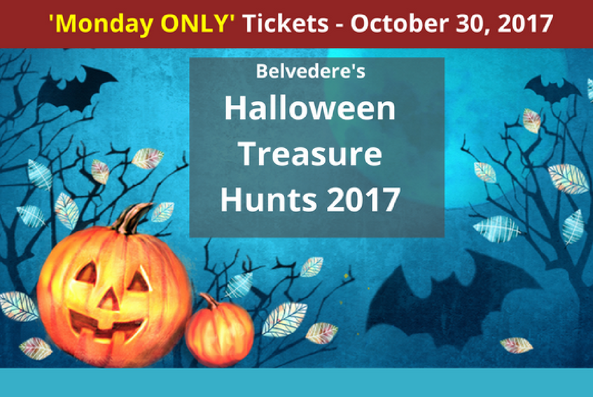 MONDAY Halloween Treasure Hunt at Belvedere House, Gardens and Park