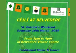Saint Patrick's Céilí Event on Saturday, March 16, 2019