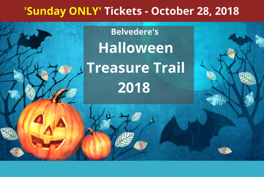 SUNDAY Halloween Treasure Trail at Belvedere House, Gardens and Park.