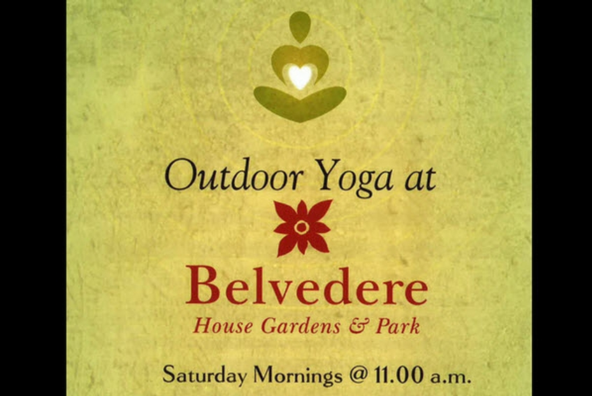 Outdoor Yoga at Belvedere - Saturdays throughout the summer