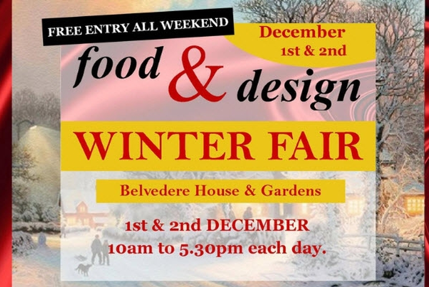 The Food & Design Winter Fair in Belvedere House & Gardens