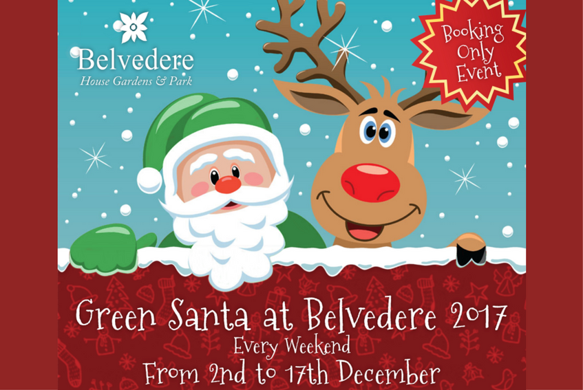 Visit Green Santa at Belvedere (Weekends from December 2 to 17, 2017)